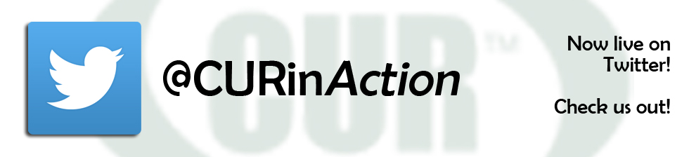 @CURinAction now on Twitter