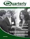 CUR Quarterly Spring 2013 Issue