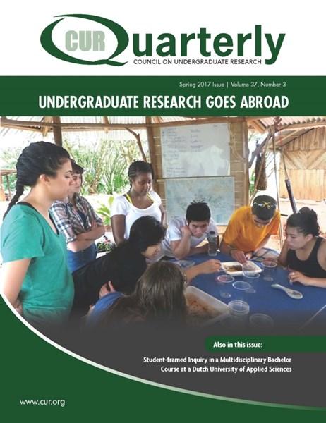 CUR Quarterly Past Issues   Publications   Council on Undergraduate