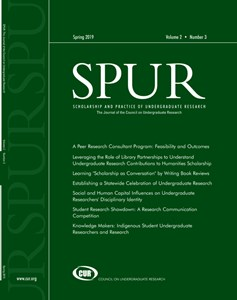 SPUR Volumes and Issues | Publications | Council on